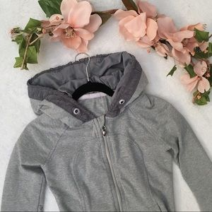 Grey lululemon movement jacket